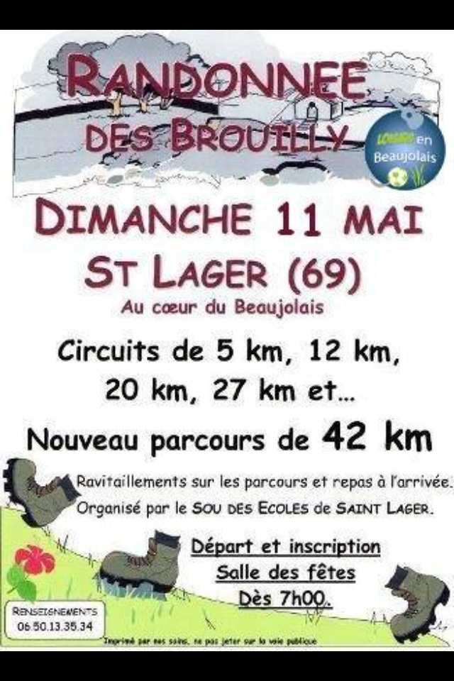 Randonnée de Brouilly