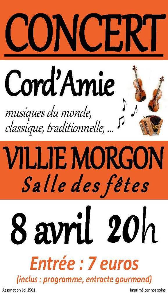 Concert Atelier Cord'Amie