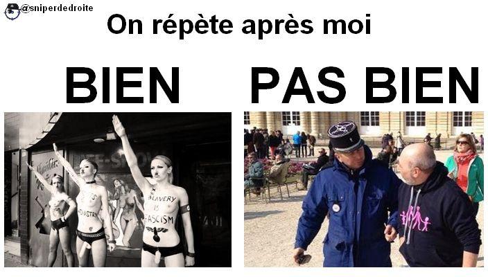 Ah, c'est vrai qu'en France, on a des valeurs bizarres, depuis 2 ans !