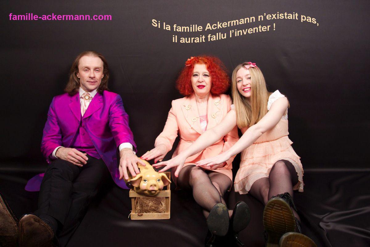 LA FAMILLE ACKERMANN