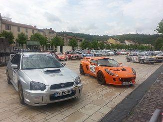 Laudis Nissan Cahors au Rallye du Quercy 2015