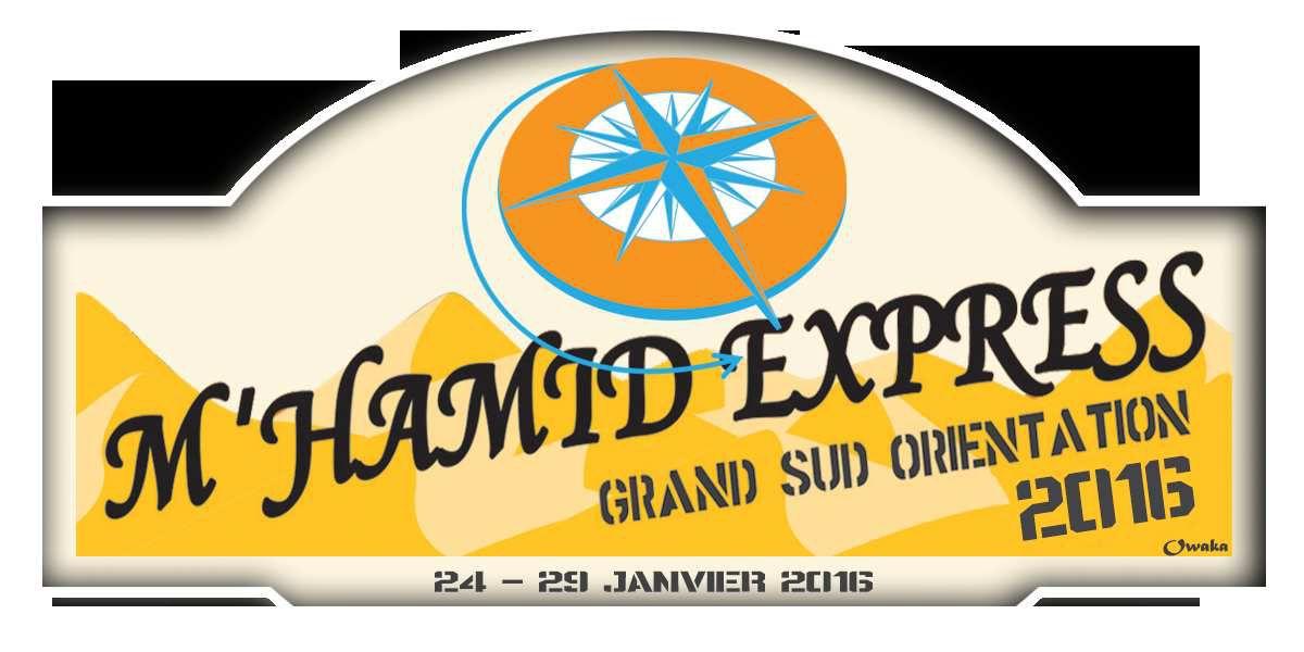 M'hamid express 2016, vérifications et étapes1,2,3