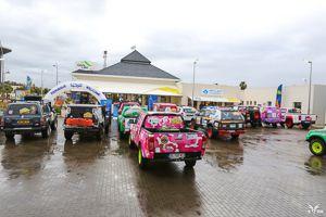 rallye gazelles 2016, col d'azrou neige et pluie , suivez l'équipage 117 caroline et karen