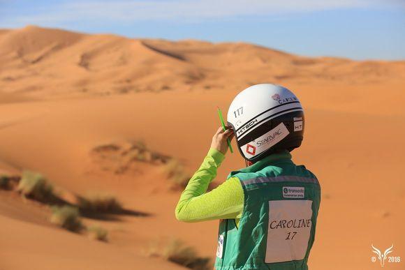 rallye aicha des gazelles 2016, suivez l 'équipage 117 caroline et karen