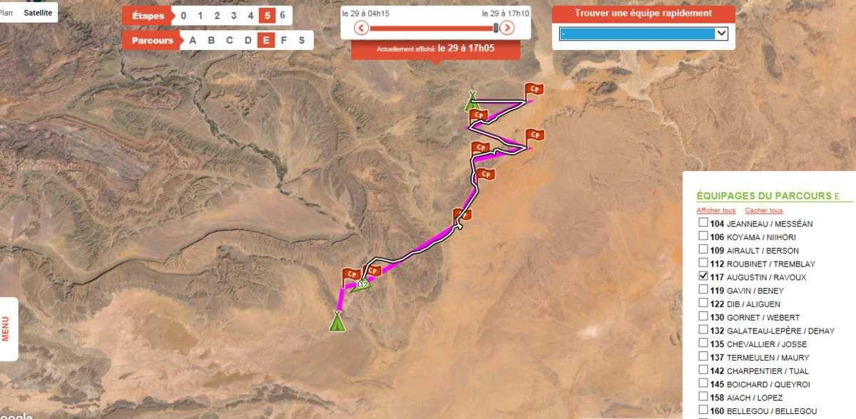 équipage 117 caroline et karen, rallye des gazelles 2016 en 41 ème place, elles remontent