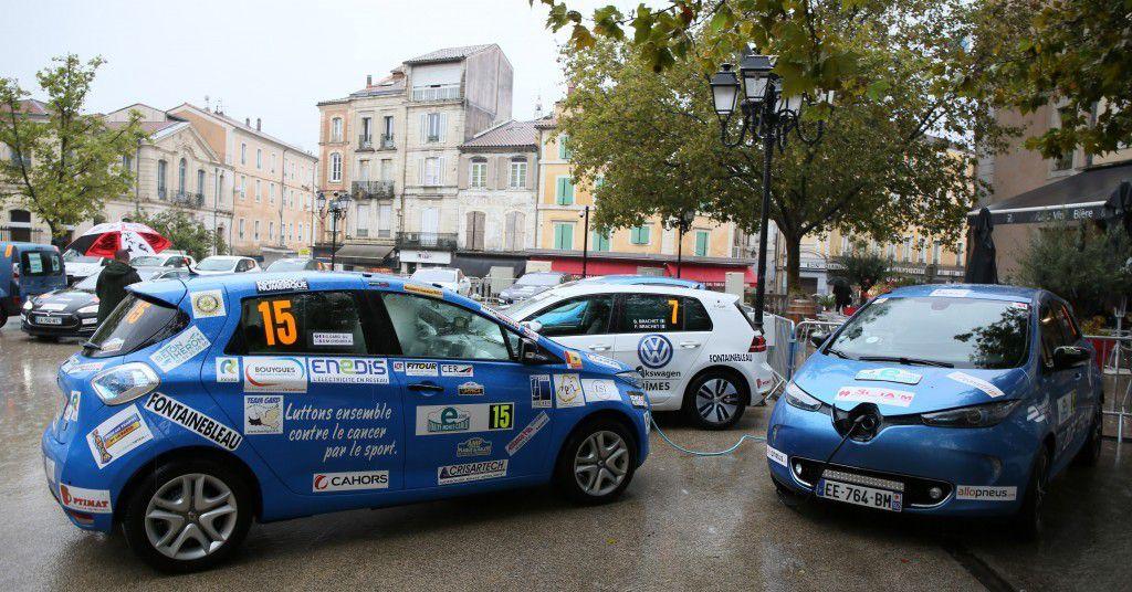 Gilles Gard au e-rallye electrique energie nouvelles monte carlo 2016