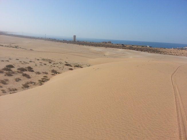 initiation à la conduite 4x4 sur sable au Maroc par christian le galliard