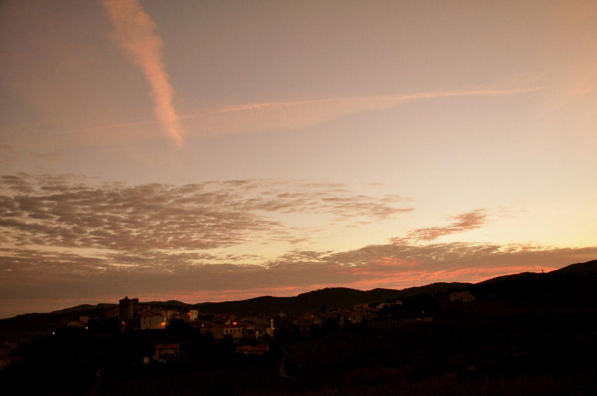 Ce matin avant que les nuages arrivent.