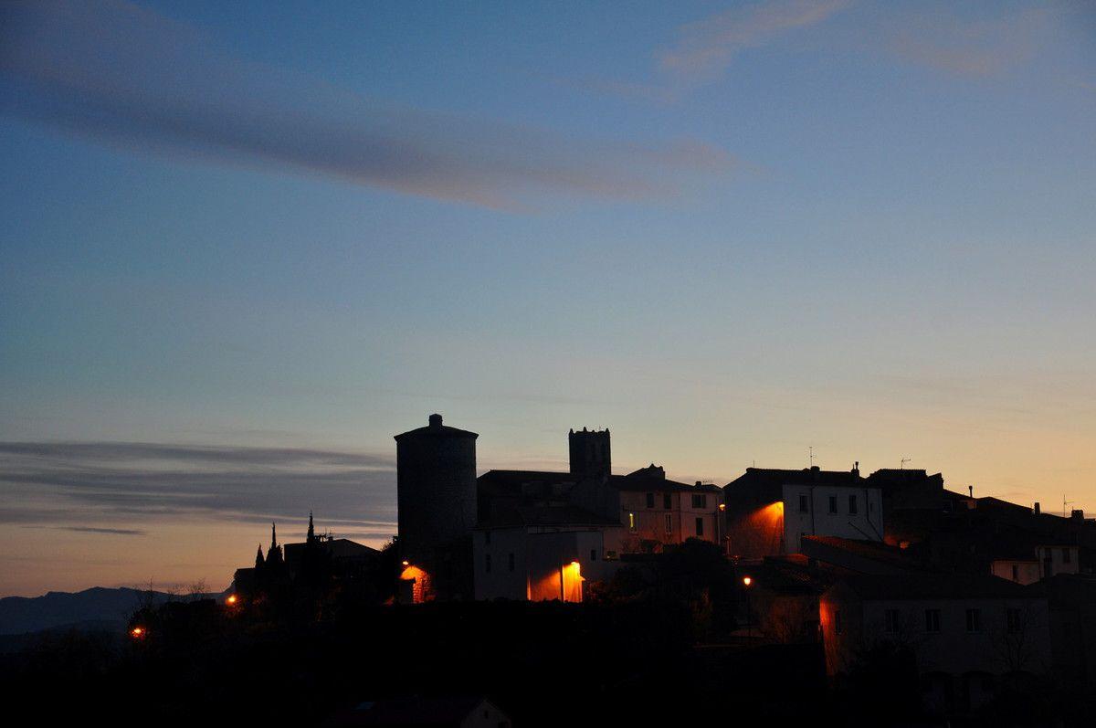 Le village de Montner maintenant à 7 heures le 22 février 2017.