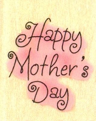 Happy Mother's Day :)
