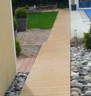 r sultat fini terrasse raccord e avec plage piscine blog de travaux et de bricolage pour la. Black Bedroom Furniture Sets. Home Design Ideas