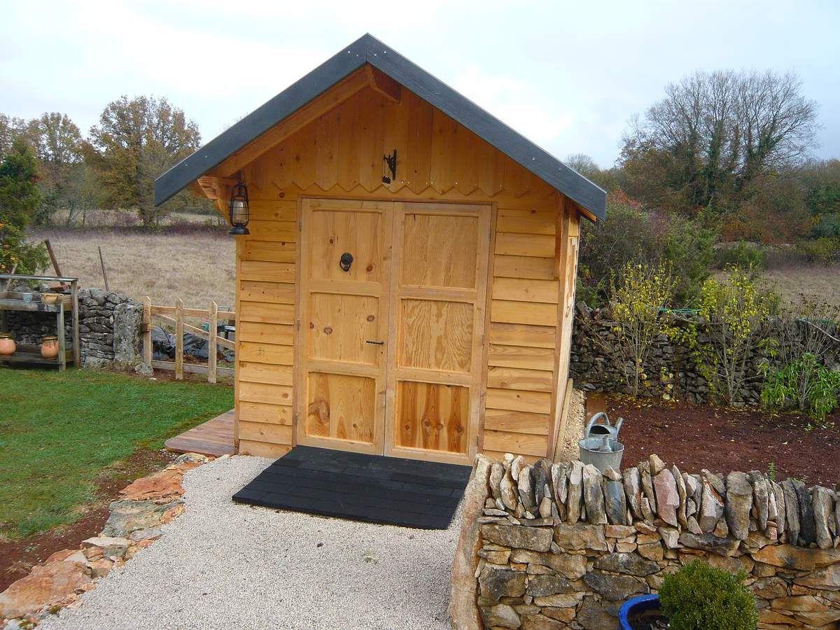 Abri de jardin en bois cabane de jardin fin ou presque for Cabane en bois jardin