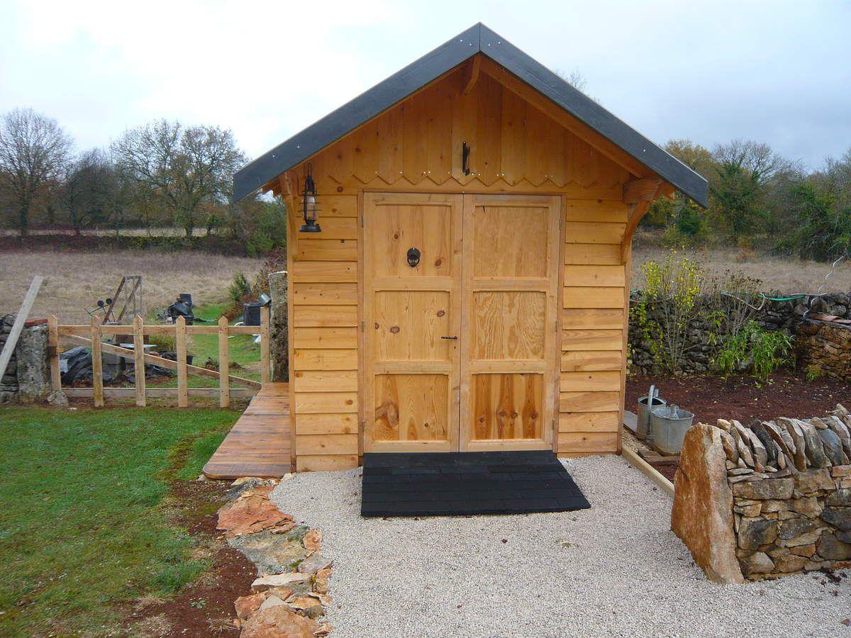 Abri de jardin en bois, cabane de jardin: FIN ou presque - blog de ...
