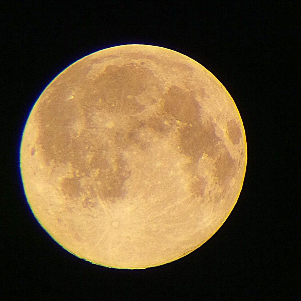 Pleine Lune du 13/06/2014 - 03:37 AM - BlackBerry Q10 + Praktica compact 15-45*60