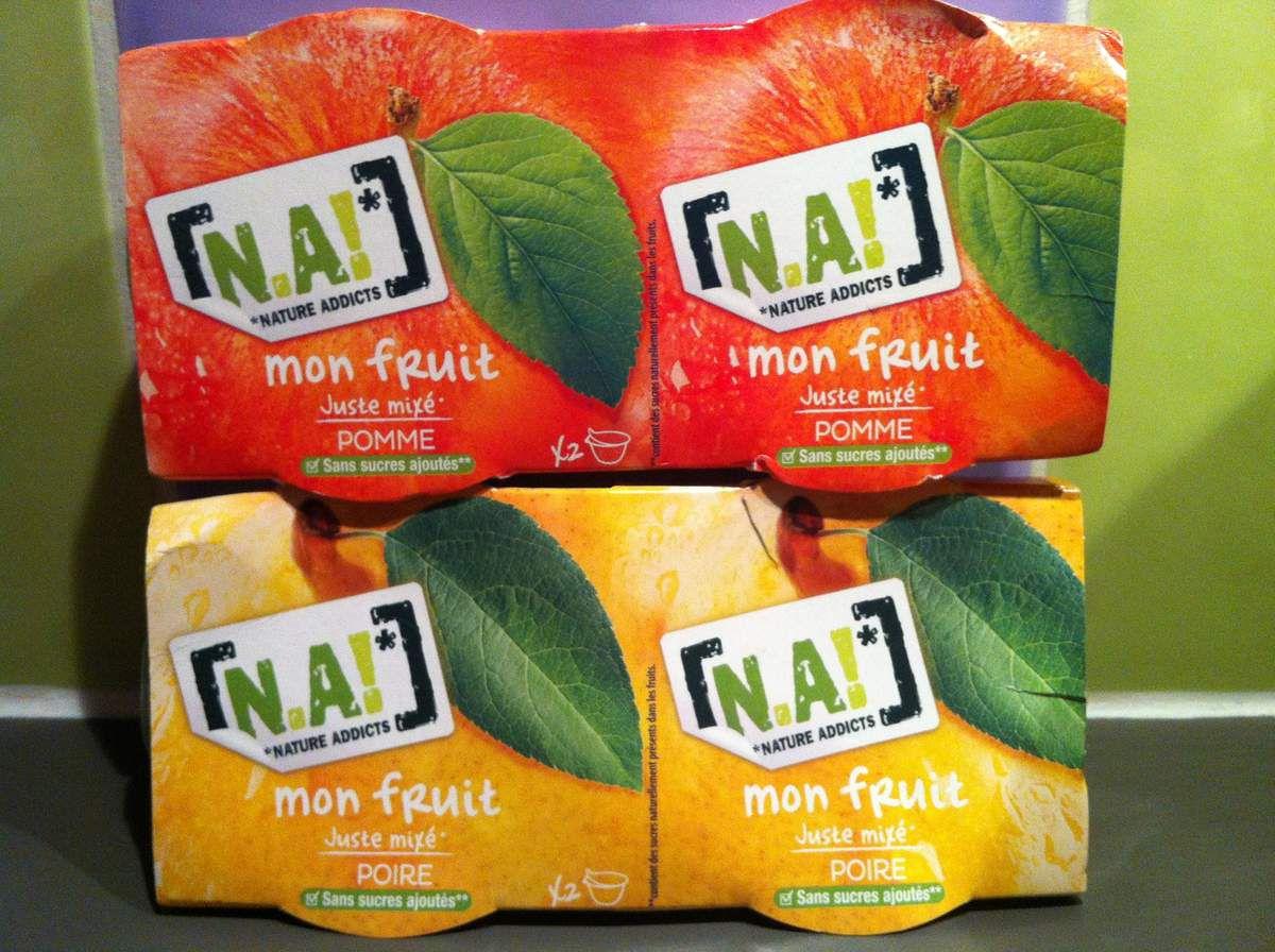 mon fruit juste mixé N.A!