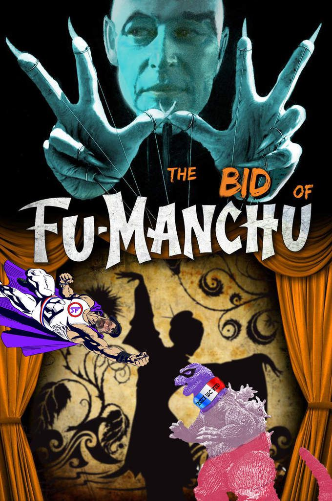 The bid of the revenge of the daughter of Fu Manchu VS Super Fandom ) (Aka GB in the real life)