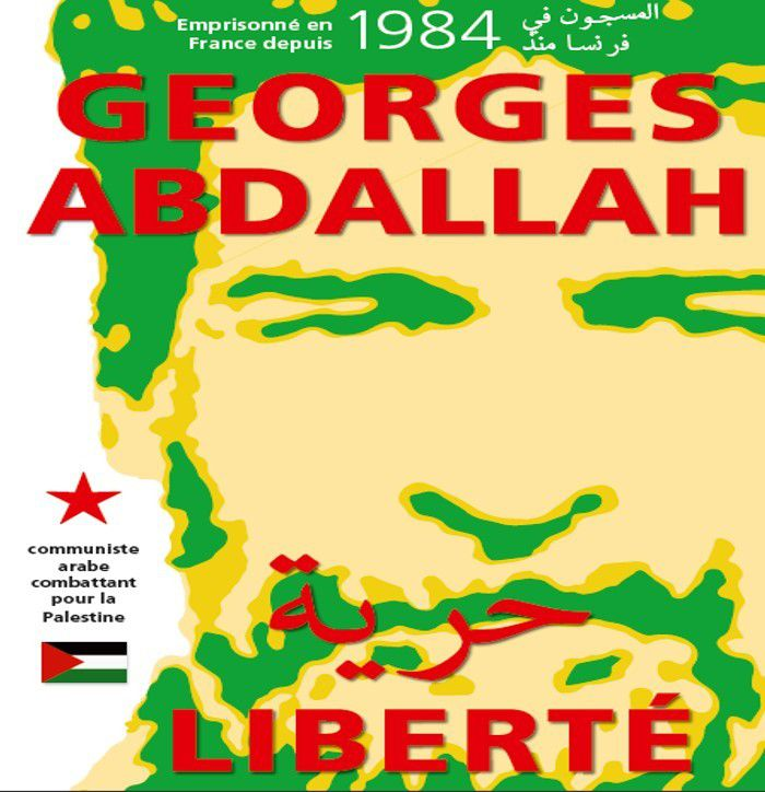Affiche Georges Ibrahim Abdallah