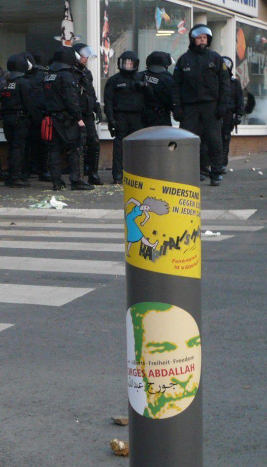 Anticapitaliste - Francfort Blockupy 2015 Franckfurt