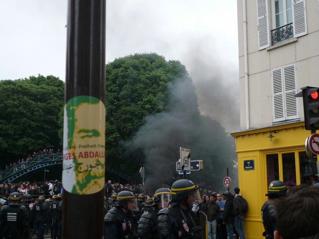 Manifestation antifasciste - Clément Méric - samedi 4 juin 2016