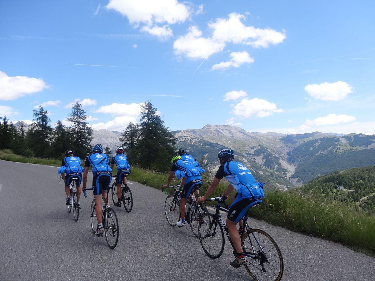 Fin de la Route des Grandes Alpes