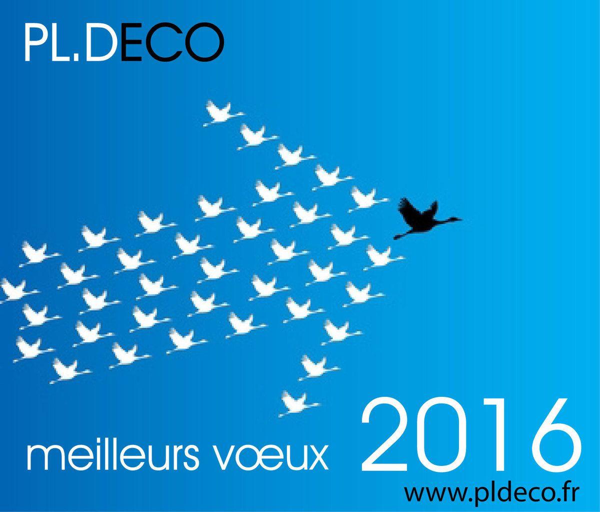 L'atelier PL DECO vous présente ses meilleurs voeux et vous remercie pour votre fidélité et votre soutien.
