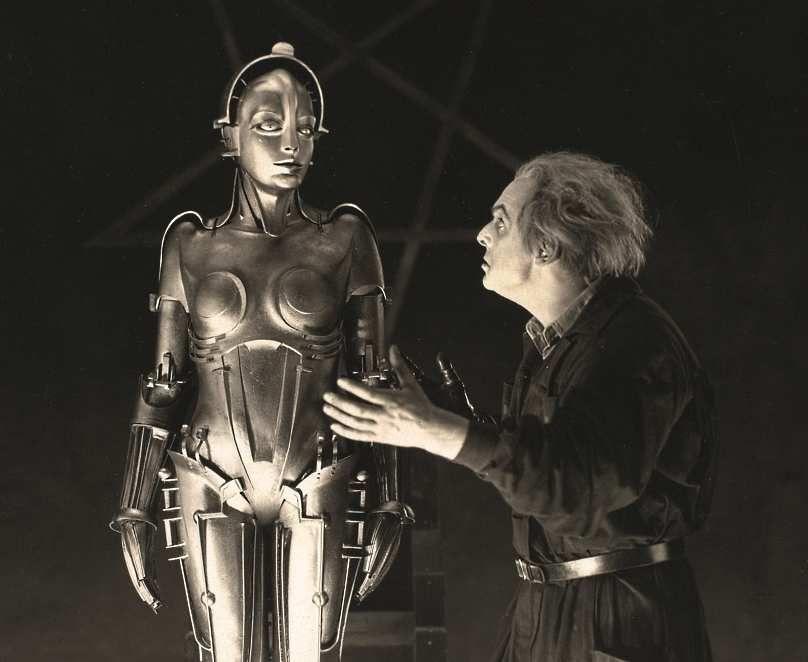 """L'androïde du film """"Métropolis"""" de Fritz Lang"""