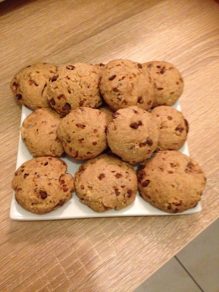 Cookie Okara aux noix VG