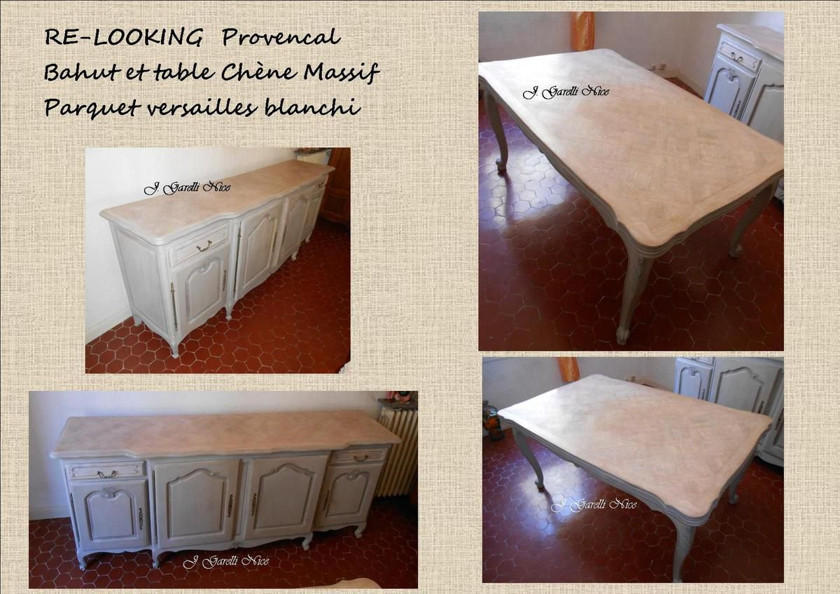 RELOOKING  Style Provençal Bahut