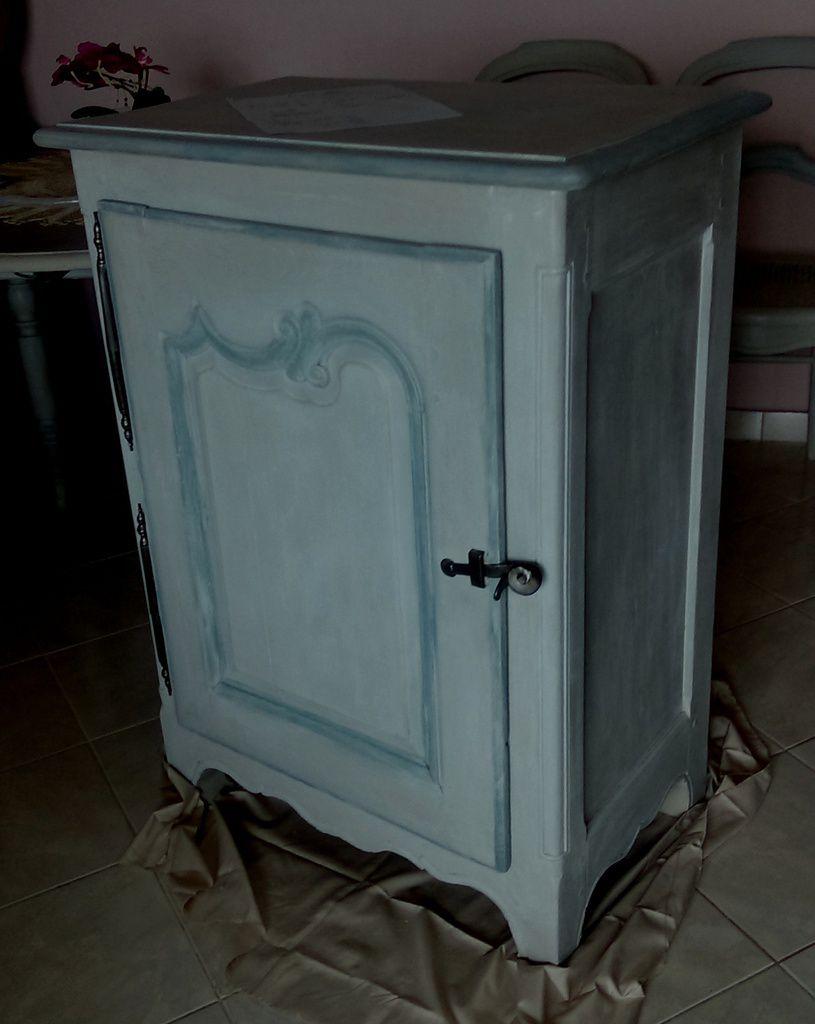 Bahut  Confiturier  XIXème, table à volets, chaises  transformés Style Gustavien