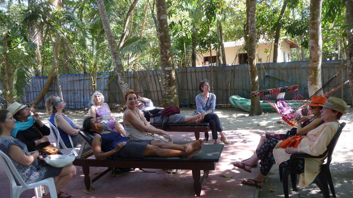 Yoga et découverte de l'Inde, voyage de février 2017.