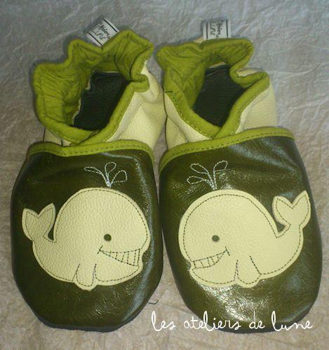 la fabrique de petits chaussons...