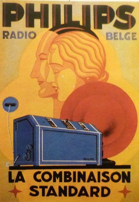 La société néerlandise Philips s'est lancée depuis 1927 dans la fabrication de radio dont la fidélité de retransmission n'a d'égale que celle de ses auditeurs. source : Les années mémoire - Larousse