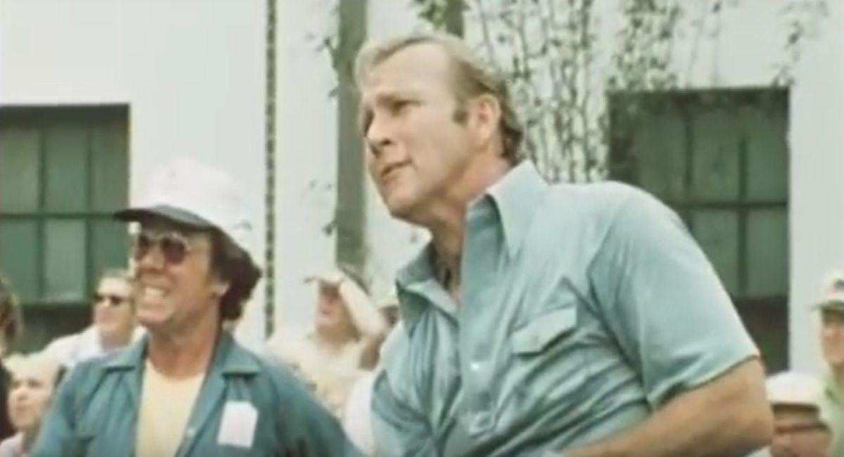 """""""CLIC"""" pour voir l'adieu à Arnold Palmer légende du golf"""
