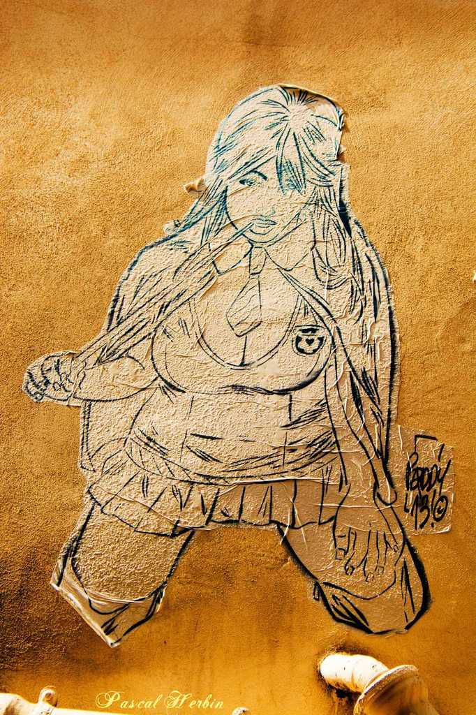 Urban Art : Manara's dead end