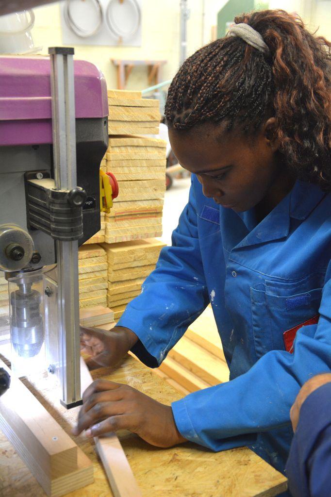 Atelier fait main - Construction des tables + repas