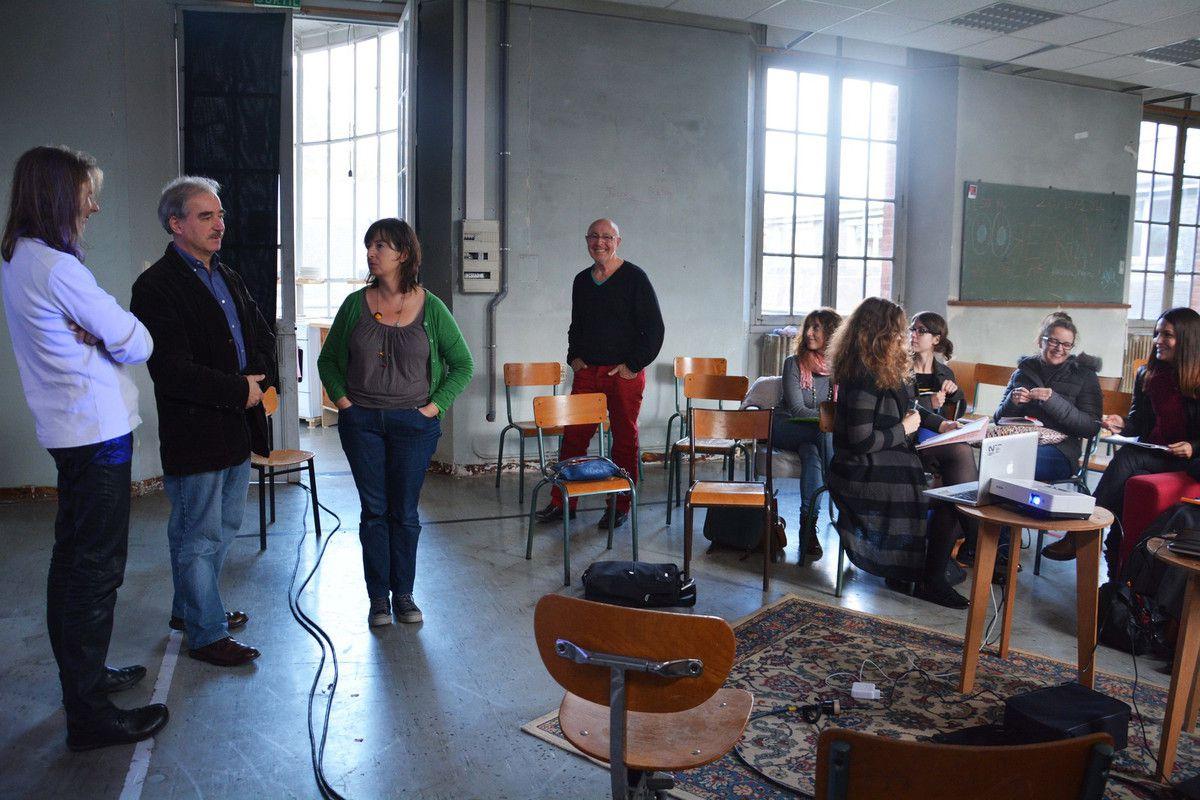 [En cours] Master MAGEMI - Rennes 2 - scénographie à Pasteur