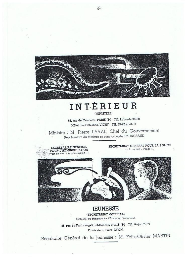 L'escroquerie de la libération de la préfecture de PARIS