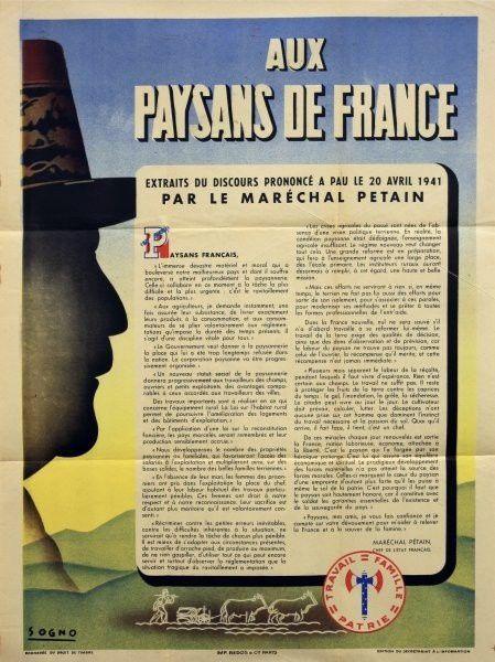 Collaboration les petainistes condamnes 1940 1945