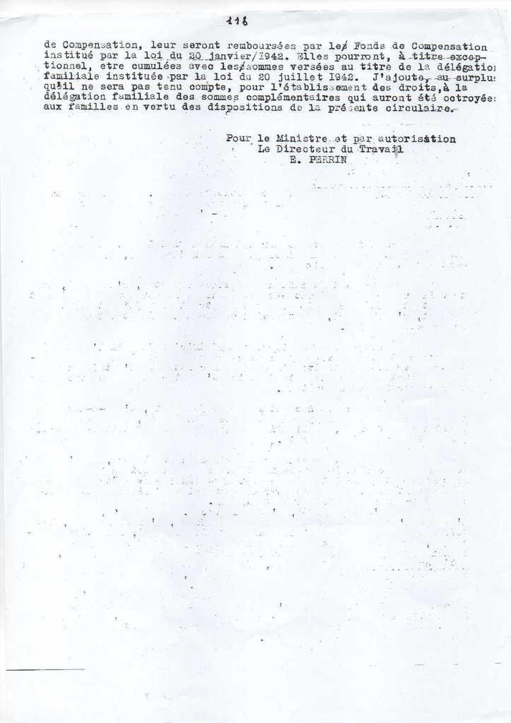 Allocation Familiale créée sous vichy non en 1945