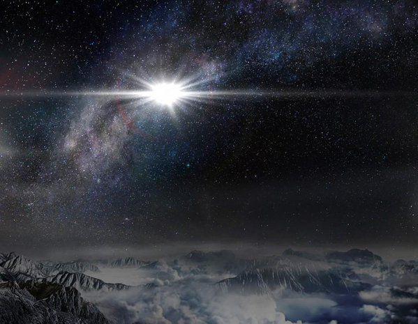 La lumière vient du ciel !