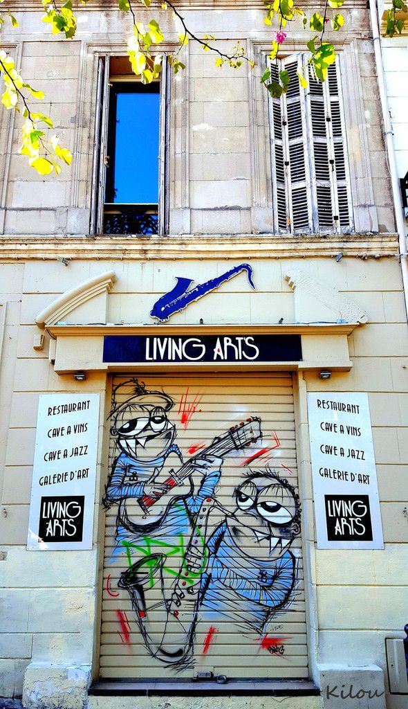 Street art of Marseille 8