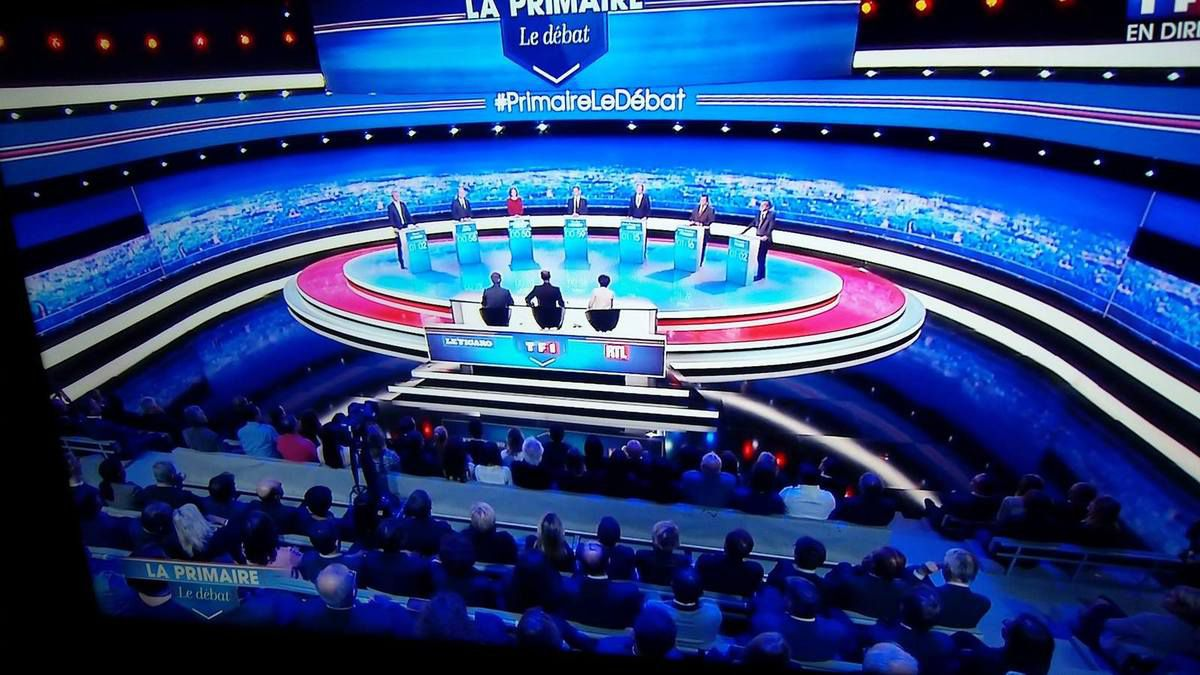 La primaire, le débat (TF1), c'était le Maillon Faible !....