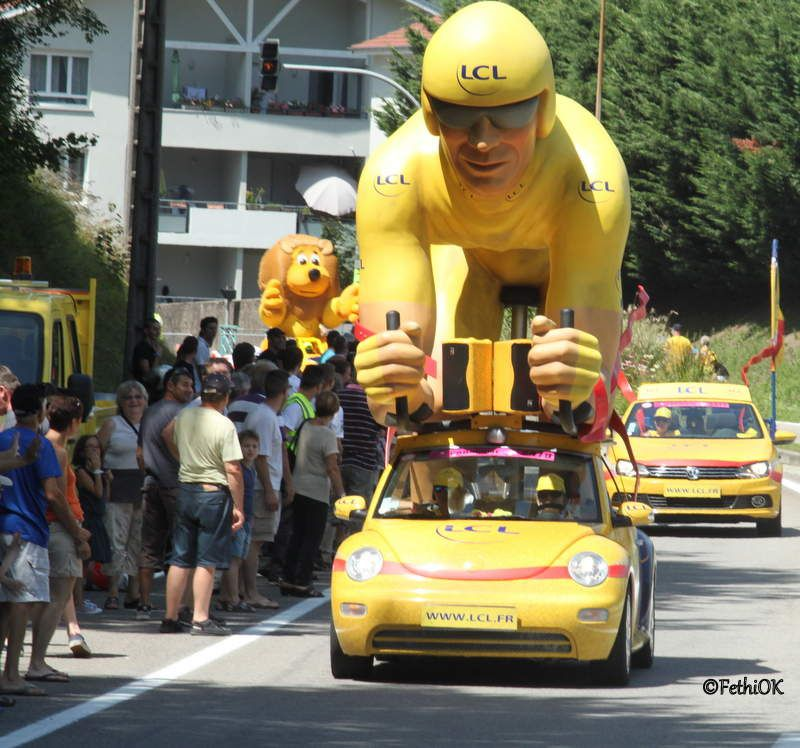 Le Tour de France de passage à Grenoble