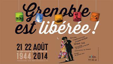 Grenoble libérée:1944-2014