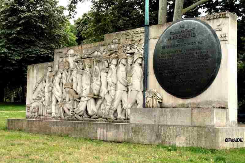 Le monument à la mission Marchand