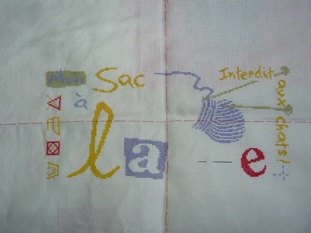 SAL Sac à laine étape 6 et 7
