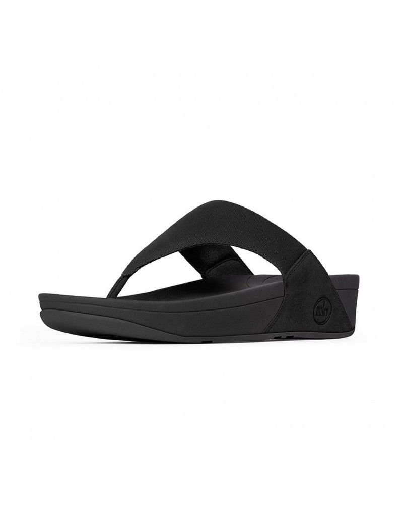 51debb4cb Lulu Canvas Black New 2014 Fitflop Women Sandals - fitflop sandals cheap