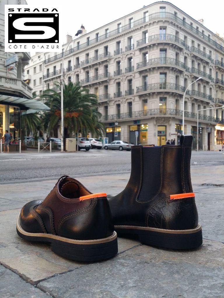 Les chaussures PAUL SMITH en balade à Toulon...