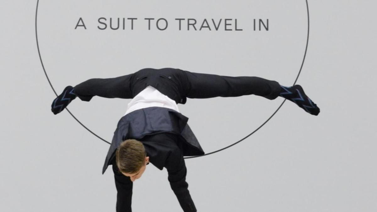 A SUIT TO TRAVEL IN