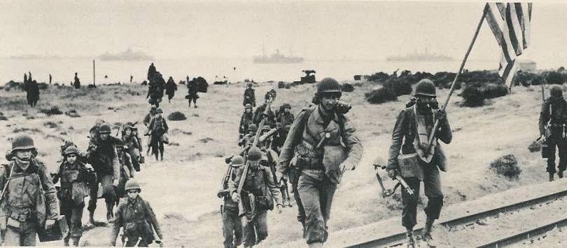 """Le 8 novembre 1942, les armées US et anglaise débarquèrent en Afrique du Nord, à Casablanca et Oran notamment, afin de préparer le débarquement de 44 en Normandie. C'était l'opération """",Torch""""."""